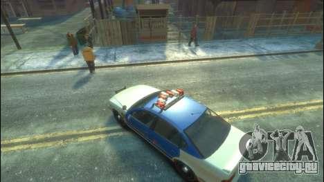 Police из GTA 5 для GTA 4 вид сзади