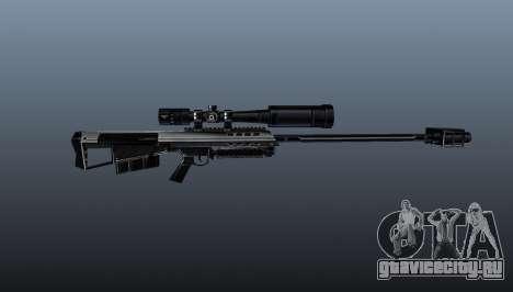 Снайперская винтовка Barrett M95 для GTA 4 третий скриншот