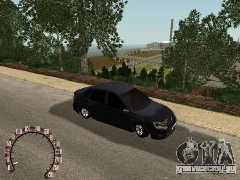 ВАЗ 2190 для GTA San Andreas вид сзади слева