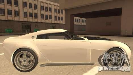 Melling Hellcat для GTA San Andreas вид сзади слева