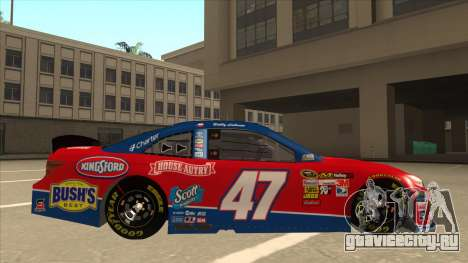 Toyota Camry NASCAR No. 47 House-Autry для GTA San Andreas вид сзади слева