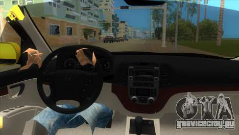Hyundai Santa Fe 2006 для GTA Vice City вид справа