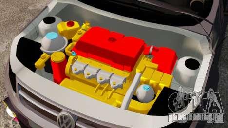 Volkswagen Gol Rally 2012 Socado Turbo для GTA 4 вид изнутри