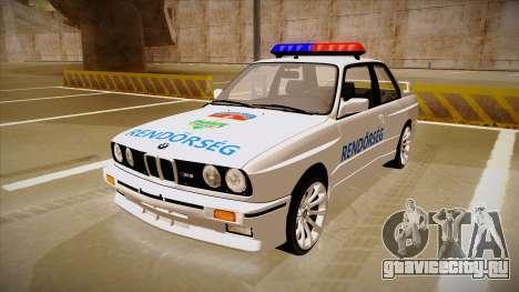 BMW M3 E30 Rendőrség для GTA San Andreas