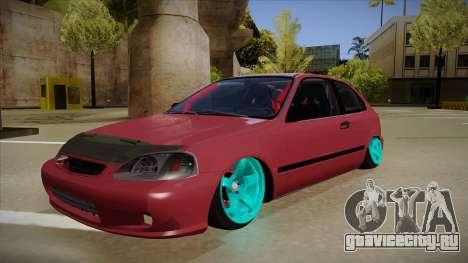Honda Civic EK9 Drift Edition для GTA San Andreas