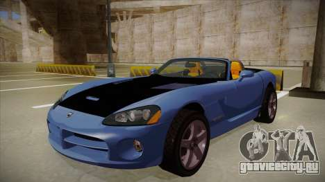 Dodge Viper v1 для GTA San Andreas
