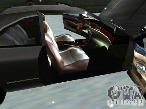 Lincoln Continental Mark VIII 1996 для GTA San Andreas вид изнутри