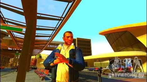 Джинсовая куртка Тревора из GTA V для GTA 4
