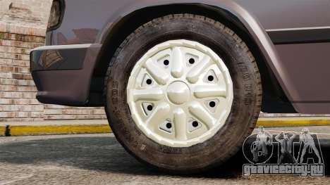 ГАЗ-3110 Волга для GTA 4 вид сзади