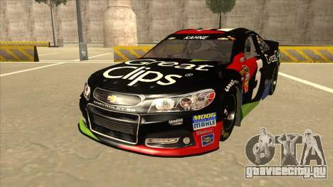 Chevrolet SS NASCAR No. 5 Great Clips для GTA San Andreas