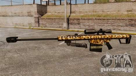 Снайперская винтовка Barrett M82 v10 для GTA 4 третий скриншот