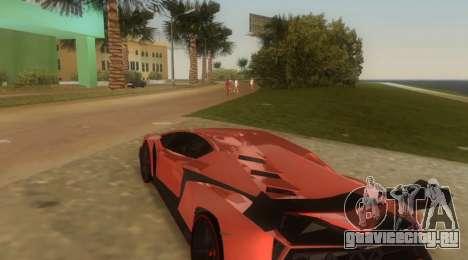 Lamborghini Veneno для GTA Vice City вид справа
