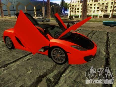 McLaren MP4-12C WheelsAndMore для GTA San Andreas вид слева