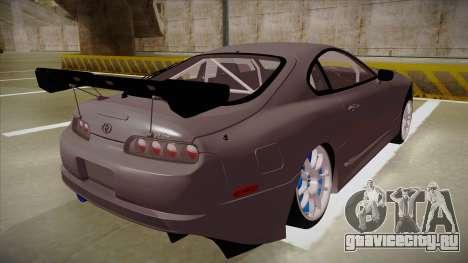 Toyota Supra RZ для GTA San Andreas вид справа