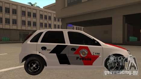 Chevrolet Corsa VHC PM-SP для GTA San Andreas вид сзади слева