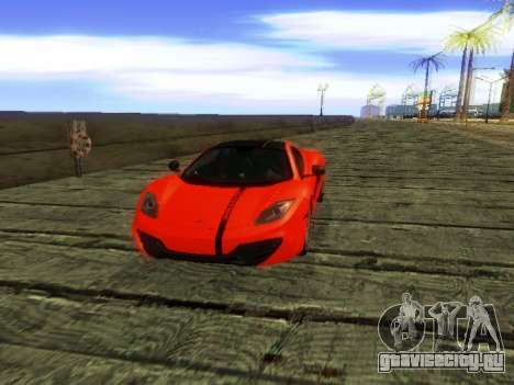 McLaren MP4-12C WheelsAndMore для GTA San Andreas двигатель
