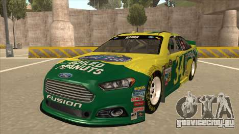 Ford Fusion NASCAR No. 34 Peanut Patch для GTA San Andreas