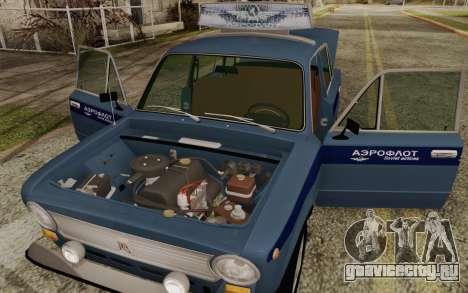 ВАЗ 21011 Аэрофлот для GTA San Andreas вид сбоку