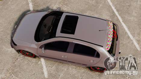Volkswagen Gol Rally 2012 Socado Turbo для GTA 4 вид справа