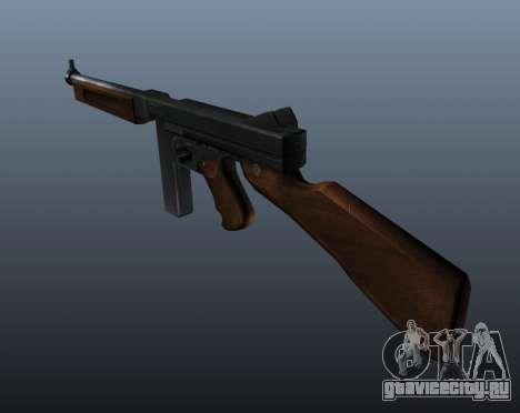 Пистолет-пулемёт Томпсона М1А1 v1 для GTA 4 второй скриншот