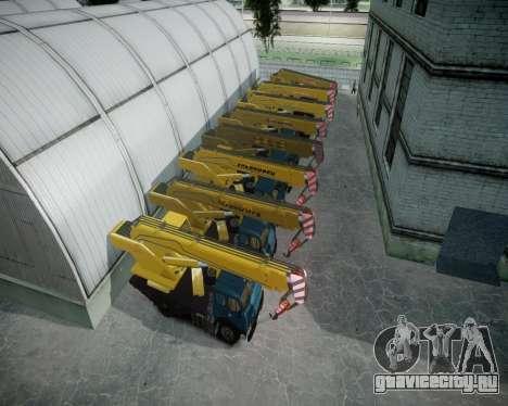 МАЗ КС3577-4-6 Ульяновец для GTA 4 вид сверху