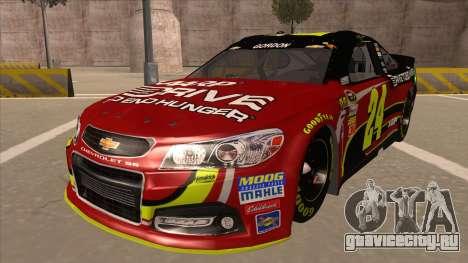 Chevrolet SS NASCAR No. 24 AARP для GTA San Andreas