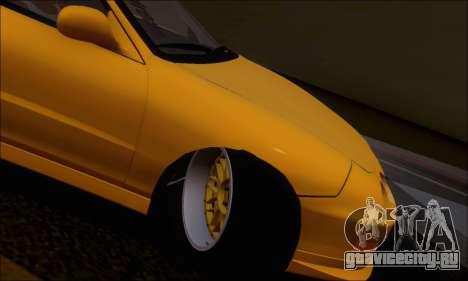 Honda Integra Type-R Hellaflush для GTA San Andreas вид изнутри