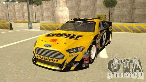 Ford Fusion NASCAR No. 9 Stanley DeWalt для GTA San Andreas