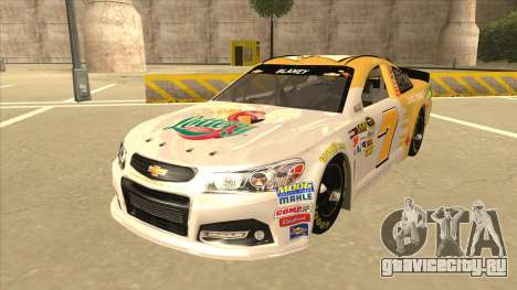 Chevrolet SS NASCAR No. 7 Florida Lottery для GTA San Andreas