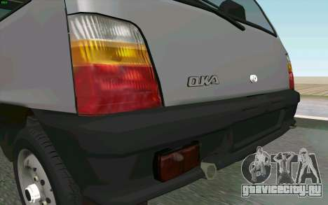 КамАЗ Ока для GTA San Andreas вид сзади