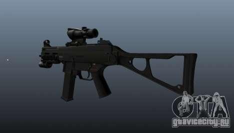 Пистолет-пулемёт UMP45 v1 для GTA 4 второй скриншот