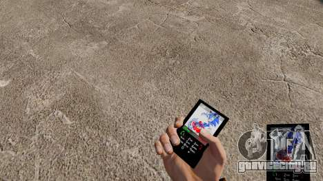 Тема для телефона Sonic для GTA 4