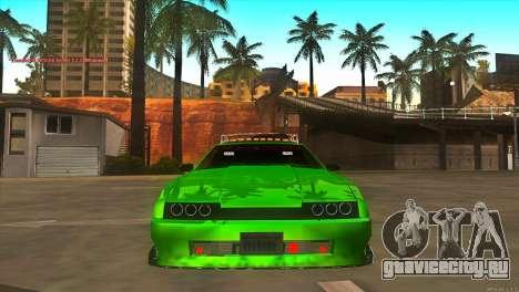 Elegy New Year for JDM для GTA San Andreas вид сбоку