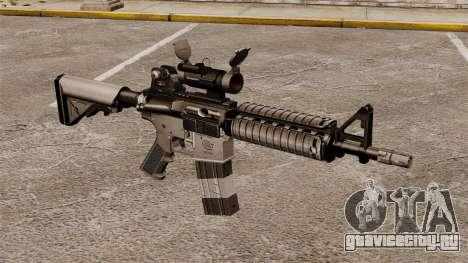 Автоматический карабин М4 CQBR v2 для GTA 4