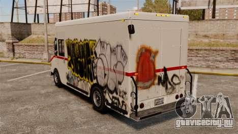 Новые граффити для Boxville для GTA 4 вид справа