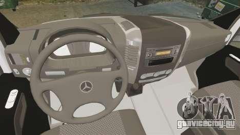 Mercedes-Benz Sprinter Zagreb Ambulance [ELS] для GTA 4 вид сзади