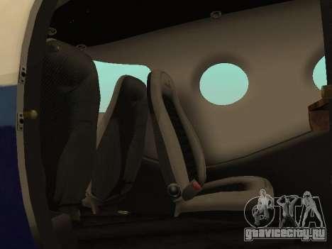Epic Victory из Microsoft Flight Simulator для GTA San Andreas вид сзади слева
