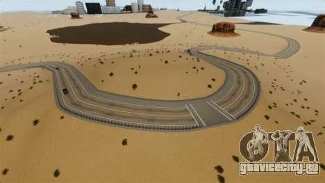 Локация Deserted City для GTA 4 пятый скриншот