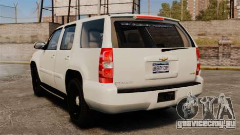 Chevrolet Tahoe Slicktop [ELS] v1 для GTA 4 вид сзади слева