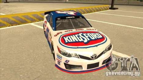 Toyota Camry NASCAR No. 47 Kingsford для GTA San Andreas вид слева