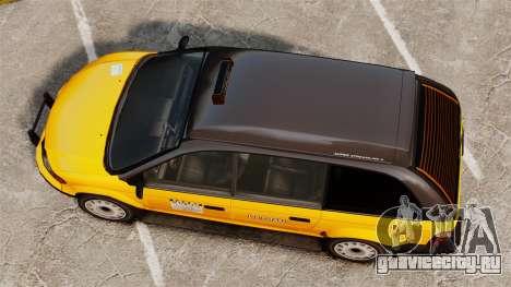 Улучшенное такси для GTA 4 вид справа