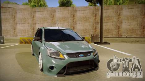 Ford Focus RS 2010 для GTA San Andreas вид слева