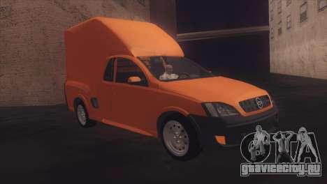 Chevrolet Montana Combo для GTA San Andreas вид справа