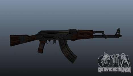 Автомат АК-47 v2 для GTA 4