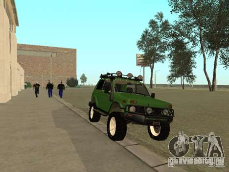 ВАЗ 21213 нива 4x4 Off Road для GTA San Andreas