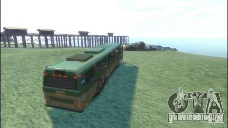 Bus из GTA 5 для GTA 4 вид справа