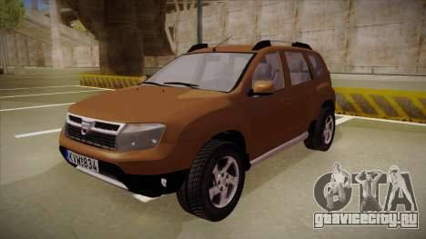 Dacia Duster Elite для GTA San Andreas