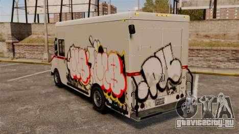 Новые граффити для Boxville для GTA 4 вид слева