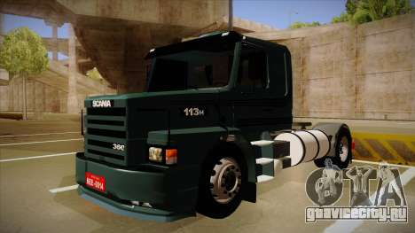 Scania 113H для GTA San Andreas
