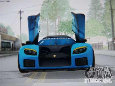 Koenigsegg CCX Elite для GTA San Andreas